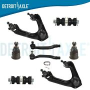 Brand New 8pc Complete Front Suspension Kit For Honda Acura Accord Cl