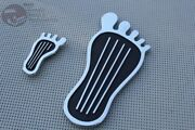 Custom Barefoot Gas Pedal Cover Dimmer Switch Cover Vintage Moon Sixties Style