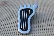Custom Barefoot Low Beam Floor Dimmer Switch Cover Vintage Moon Sixties Style