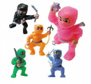 500 Ninja Fighters Figurines Bulk Wholesale Cake Toppers Toy Birthday Party