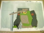 Transformers Headmasters Autobot Hardhead Anime Production Cel And Background 2