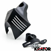 Black Twin Horn Cover Cowbell For 1992-2014 Harley Davidson Motorcycles