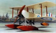 Sopwith Baby Single-seat Scout And Bomber Biplane Seaplane Wood Model Small New