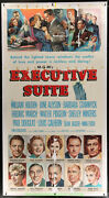 Executive Suite Movie Poster Lb Three Sheet 1954 William Holden Barbara Stanwyck