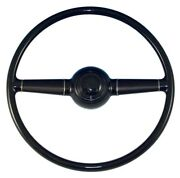 1940 Ford Steering Wheel As Originaldeluxe Passenger Car - W/ Smooth Horn Button