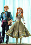 Disney Store Limited Edition Frozen Anna And Kristoff Dolls