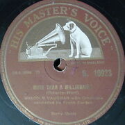 78rpm Malcolm Vaughan More Than A Millionaire / Take Me Back Again