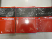 2006 Harley Davidson Softail Service Shop Manual Set W Parts And Electrical Books