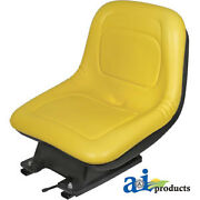 Compatible With John Deere Seat W/ Suspension Am131801 355d345 Sn 70001-335