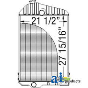 Compatible With John Deere Radiator Ar43945 6-466t Stationary Power Unit,6-466