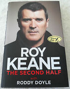 New Roy Keane Signed Autobiography Hard Cover Buy Authentic Manchester United