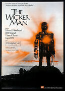 The Wicker Man Cult Horror Country Of Origin 1974 British 1-sheet Rolled
