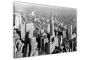 Vintage 1930s New York City Pictures Wall Art Canvas Prints Framed Poster Deco