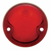 Tail Light Lens Glass 1932 Ford Cars  All Red New Glass Lens
