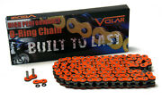 Volar O-ring Chain - Orange For 1968-1975 Suzuki T500