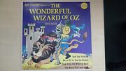 Art Carney Featured In The Wonderful Wizard Of Oz Golden Records Lp 60s