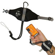 Chums Stingray Waterproof Camera Wrist Strap Float Cell Phone Floating Black