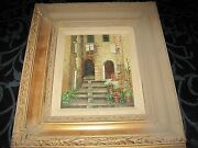 Gilmore Wood Framed Oil On Canvas Painting