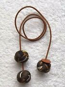 Hermes Silk Pom Pom Charms - Collector Piece - Hard To Find - Rare