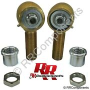 Panhard 1-1/4 X 9/16 Bore Chromoly Rod Ends Heim Joint Fits 1-1/2 Id Holerock