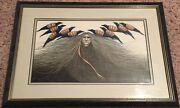 Frank Howell Raven Songs Lithograph Print