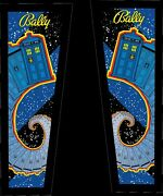 Doctor Who Pinball Headbox Decal Set Hard 2 Get Decals. Turns Old Into New Again