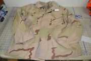 Military Issue Jacket Desert Camo Dcu Cold Weather Army Size Small Reg Usa Made