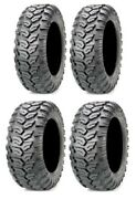 Full Set Of Maxxis Ceros Radial 26x9-12 And 26x11-12 Atv Tires 4