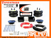 Iveco Daily 35 S, 9 To 17, Leaf Below Axle 00-06 Firestone Air Bag Assist Kit
