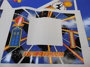 Doctor Who Pinball Coin Door Decal Hard 2 Get Decal Turn Old Into New Mr Pinball