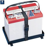 Th Marine Battery Holder Tray With Poly Strap Hold Down Bh-27p-dp
