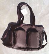 Pottery Barn Kids Camden Diaper Bag Tote Brown Nylon Sold Out Everywhere