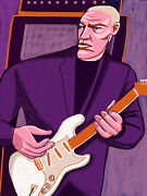 David Gilmour Print Poster Live In Gdansk Cd Dark Side Moon Pink Floyd The Wall