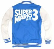 Super Mario Bros 3 Varsity Jacket Best Game Of All Time Ever Nes Snes Switch Gba