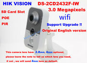 Hikvision Ds-2cd2432f-iw 3mp Wireless Wifi Hd 1080p Poe Home Security Ip Camera