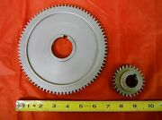 Bridgeport Mill Part Milling Machine Spindle Bull Gear Assembly 2183933 M1490