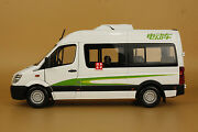124 China Golden Dragon Higer Bus Diecast Model White Color