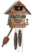 River City Clocks One Day Cuckoo Clock Cottage With Treemushroom And Water Pump