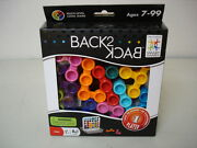 50 Pieces Back-2-back By Smartgames Ages 7+ , Award Winning Game 60 Challenges