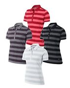Nike Bold Stripe Womenand039s Golf Polo 70 585868 Sizes And Colors Available