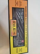 Mth Railking O Trains Pennsylvania Rounded Roof Box Car Wand039 Generator 30-74805