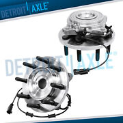 Front Wheel Bearing And Hubs For 2009 2010 2011 Dodge Ram 2500 3500 4x4 W/ Abs
