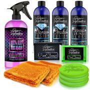 Car Restoration Kit Valeting Cleaning Polish Wax Wash Clay Set Pure Definition
