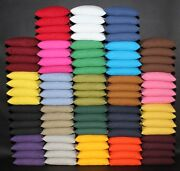 16 All Weather Cornhole Resin Filled Bags Pick Your Colors Quality Duck Canvas