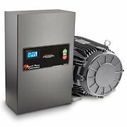 20 Hp Rotary Phase Converter - Tefc Voltage Display Power Protected - Gp20plv
