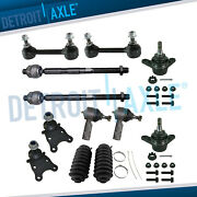 2wd 12pc 16mm Tie Rods, Lower Ball Joints Sway Bar Links For Chevrolet Gmc Rwd