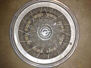 5 -old Ford Thunderbird Wire Spoke Hubcaps. I Think They Are For A 1973.