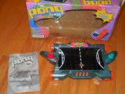 Vintage Pong Extreme Electronic Game W/ Box And Inst By Tiger 101 Light Up Games