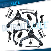 14pc Control Arm Ball Joint Sway Bar Tie Rod Kit For Jeep Liberty 2.4l 3.7l