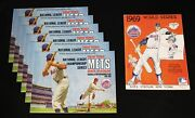 1969 New York Mets World Series And Nlcs Programs. 7 Total. Most Nm Or Better